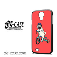 Pug Bicycle For Samsung Galaxy S4 Case Phone Case Gift Present