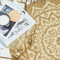 Kolam Braided Round Rug - Urban Outfitters