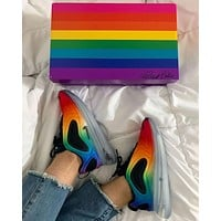 NIKE AIR MAX 720 Rainbow Sneakers