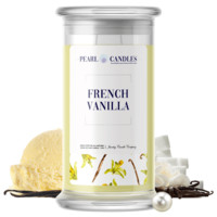 French Vanilla Pearl Candle
