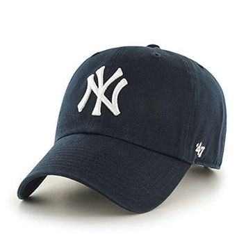 CREYXF7 NY Embroidered Baseball Caps Hats