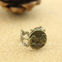 Friendship ring adjustable ring Steampunk antique jewelry best friend