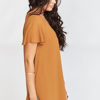 Kylie Mini Dress ~ Penny Chiffon