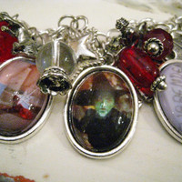 Dorothy and the WIzard of Oz Charming Bracelet Fully Loaded