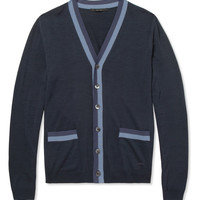 Gucci - Knitted-Silk Cardigan | MR PORTER