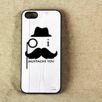 Mustache Hipster iPhone 5 Case