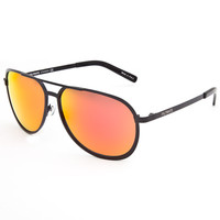 Filtrate Mp Sunglasses Black/Red Mirror One Size For Men 24832212601