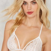 Nasty Gal All For You Lace Bra