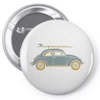 surf car Pin-back button
