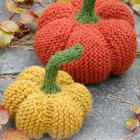 Pumpkin knitted pumpkin halloween accessories autumn fall colors amigurumi pumpkin toy table decorations thanksgiving ornament Drops Lilith