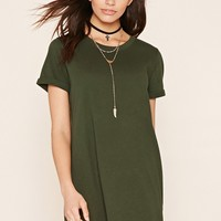 Cuffed T-Shirt Dress