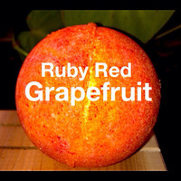 Ruby Red Grapefruit bath Bomb