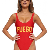FUEGO  Sexy Swimsuit