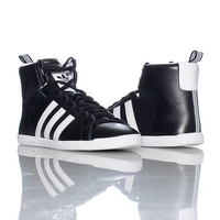 adidas Sneakers Black ROUND-IT MID SNEAKER - Sneakers and Shoes - Man Alive
