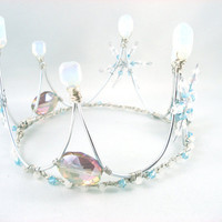 Winter Wonderland The Ice Queen's Crown Made to by angelyques