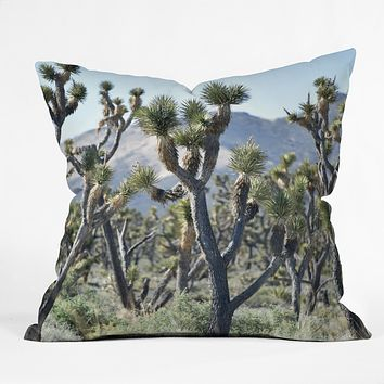 Lisa Argyropoulos Joshuas Outdoor Throw Pillow