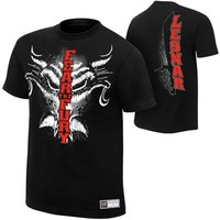 """Brock Lesnar """"Fear The Fury"""" Authentic T-Shirt - WWE"""