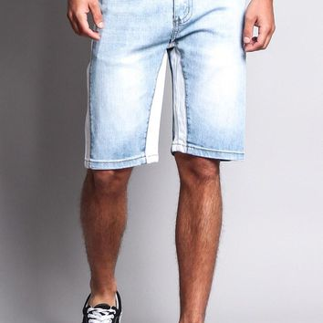 Men's Double Taped Track Style Shorts