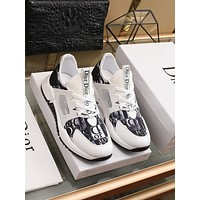 dior fashion men womens casual running sport shoes sneakers slipper sandals high heels shoes 225