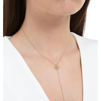 Delfina Delettrez | Metallic Micro Eye Sliding Drops Chain Necklace | Lyst