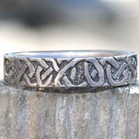 Sterling Silver Ring Band Thumb Stacking