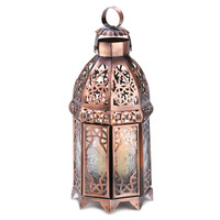 COPPER MOROCCAN CANDLE LAMP