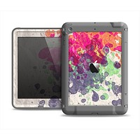 The Vintage WaterColor Droplets Apple iPad Mini LifeProof Fre Case Skin Set