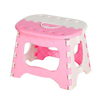 Plastic Multi Purpose Folding Step Stool Home Train Outdoor Storage   Portable folding stool U6914