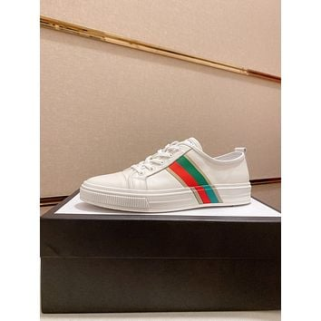 Gucci2021 Men Fashion Boots fashionable Casual leather Breathable Sneakers Running Shoes09150qh