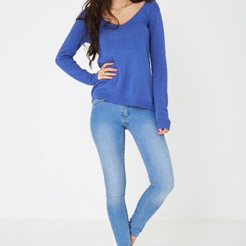 Low Rise Skinny Jeans Ex Brand