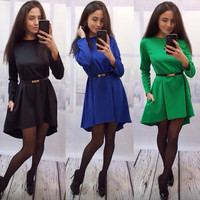 Many Colors One Piece Sexy Women Summer Roper Dress Date Party Evening Dress = 5988239425