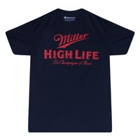 Miller High Life The Champagne of Beers  Black T-shirt