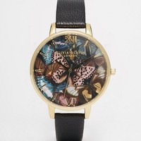 Olivia Burton Woodland Large Dial Watch at asos.com