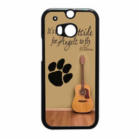 Ed Sheeran Guitar And Song Quotes HTC One M8 Case