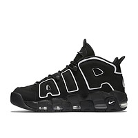 Authentic Nike Air More Uptempo Men's Breathable Basketball Shoes Sports Sneakers
