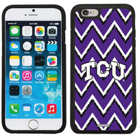 TCU Sketchy Chevron design on iPhone 6 / 6s Guardian Case | Coveroo