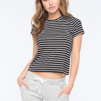 FULL TILT Striped Womens Fitted Tee   Knit Tops & Tees