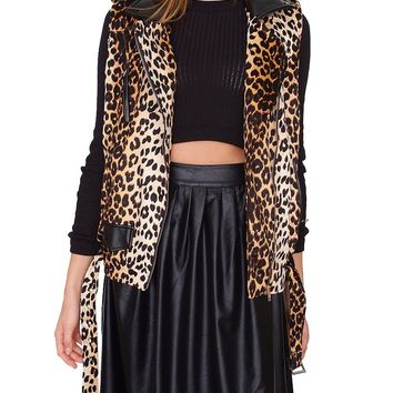 Kensington Moto Vest - Animal Print