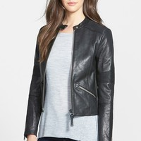 Women's Mackage Leather Moto Jacket
