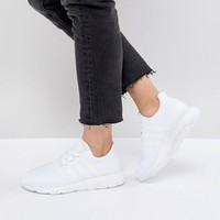 adidas Originals Swift Run Sneakers In White at asos.com