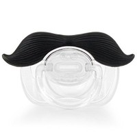 Mustache Pacifier | Unique Baby Shower Gifts - Funny Pacifiers for Boys and Girls