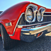 1968 Chevy Chevelle Ss 396 Photograph by Gordon Dean II - 1968 Chevy Chevelle Ss 396 Fine Art Prints and Posters for Sale