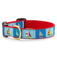 Sailing Fleet Dog Collar
