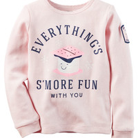 Long-Sleeve Everything's S'More Fun Thermal