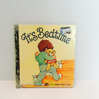 It's Bedtime - Vintage First Little Golden Book - 1981
