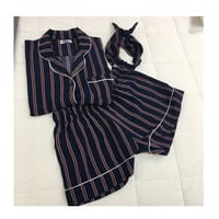 Women Plus Size 2 Piece Pajama Set