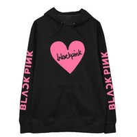 Kpop blackpink 8 style printing unisex loose hoodies fashion kpop autumn winter blink supportive fleece pullover sweatshirt