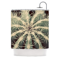 """Angie Turner """"Cactus"""" Plant Shower Curtain"""