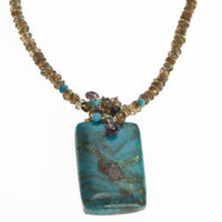 Turquoise Truth Finder Necklace Kristin Ford: One of a Kind | Whisperingtree.net