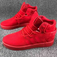 ADIDAS TUBULAR INVADER Fashion Tide Sneakers F-CSXY red